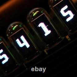 Elekstube Ips 10 Bit Rgb Nixie Tube Glows Électronique Bureau Numérique Led Horloge Kit