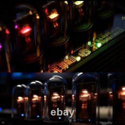 Elekstube Ips 10 Bit Rgb Nixie Tube Glows Électronique Numérique Bricolage Led Bureau Horloge