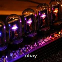 Elekstube Ips Rgb Nixie Tube Brille Bricolage Électronique Numérique Led Horloge De Bureau 10 Bits