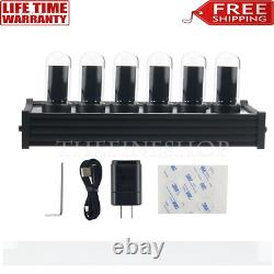 Elekstube Ips Rgb Nixie Tube Horloge Glow Customized Cadran Styles Cadeaux Créatifs