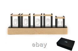 Elekstube Ips Rgb Nixie Tube Horloge Glow Tube Horloge Personnalisée Cadeau Styles De Cadran