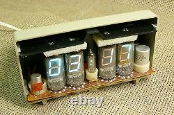 Elektronika 13. Urss /russe Vfd Nixie Tube Horloge + 2 Nixie Tube (19)
