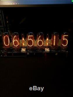 En 18 Nixie Horloge Avec Tubes