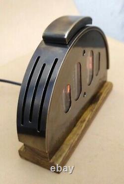Fallout 76 Inspiré Horloge Tube Nixie