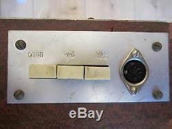 Große Elektronika 7-06k Wanduhr Nixie Horloge Murale Vfd Tube Iv-26 A 7