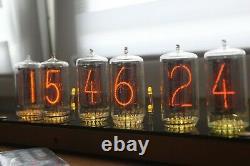 Horloge À Tube Nixie Avec Boîtier Mais Sans Tubes Z566m