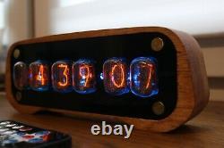 Horloge À Tube Nixie Avec In-12 Et Tubes De Boîtier Télédétecteur De Mouvement Température
