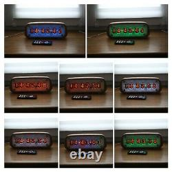 Horloge À Tube Nixie Avec In-12 Tubes Vintage Desk Table Remote Auto Temperature
