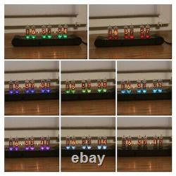 Horloge À Tube Nixie Avec Tubes In-16 (fin 5) Desk Table Remote Auto Temperature