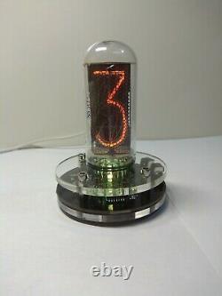 Horloge Avec Tube Nixie In-18 USA Entrepôt Led Rétroéclairage Tube Inclus