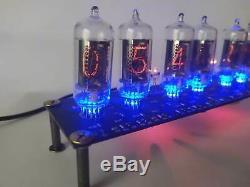 Horloge De Tube Nixie Avec 6pcs Tubes Rft Z570m Et Support, Fine 5 Pas À L'envers 2