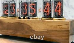 Horloge De Tube Nixie Facilement Remplaçable In-14 Tubes Nixie, Appletree, Décor Maison 327