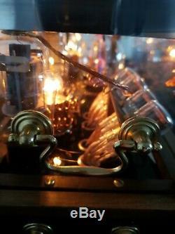 Horloge De Tube Nixie Tesla-apunk Conception D'éclairage