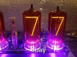 Horloge De Tube Nixie Z556m Avec 6 Tubes