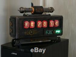Horloge Du Tube Nixie Fallout # 3 + Un Tube De Rechange + Coffret Cadeau