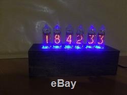 Horloge Du Tube Nixie In14 Bureau De Table Rvb Rétro Vieille Horloge Vintage Pour Chambre Jtnlab