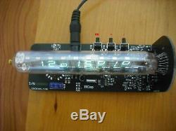 Horloge Du Tube Nixie Iv-18 Horloge Bureau Cru Vfd Kit