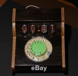 Horloge Du Tube Nixie Visuel Timer, Gestion Du Temps Compte À Rebours De Téléphone Rotatif