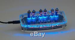Horloge Électronique Avec Numérique Tubes Nixie Numitron Iv-9 (-9)