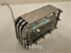 Horloge Nixie Adafruit Glace En Tube Iv-18 Vfd Cadeau Vintage De Vacances Horloge Art Steampunk