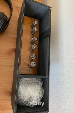 Horloge Nixie Tube Avec In 14 Tubes. Idée Grand Cadeau