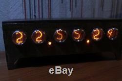 Horloge Nixie Tube Bureau Table In1 Rétro Vieille Horloge Vintage Pour Une Chambre Par Jtnlab