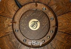 Horloge Nixie Tube Style Ufo Vintage Desk Clock In-14 14-14 Rgb Cas Chêne