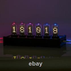 Horloge Numérique Moderne De Tube D'ips Grande Horloge De Contrôle De Pc De Contrôle De Ordinateur Diy Ref Nixie Horloge