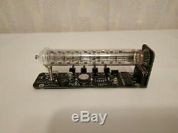 Horloge Tube Nixie Montre Vintage Tube De Bureau Assemblé Iv-18 Horloge Tube De Glace Adafruit