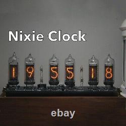 In14 Glow Tube Clock Fluorescent Nixie Clock Afficher L'heure Date Température Os12