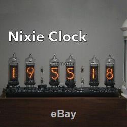 In14 Glow Tube Fluorescent Horloge Nixie Horloge Affichage Heure Date Température # Tzt2