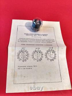 In7 In7 -7 Nixie Tube Urss Symbole De L'horloge Ancienne N + M A V M Nos Nouveaux 50pcs