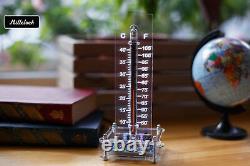 In-13 Nixie Tube Thermomètre Nixietherm Entièrement Assemblé Rgb Led Avec Boîtier