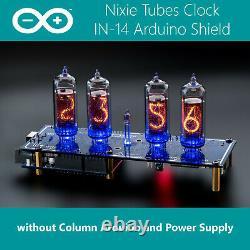 In-14 Arduino Shield Ncs314-4 Nixie Tubes Horloge Sans Colonne, Arduino, Puissance
