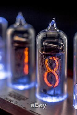 In-14 Grille Fine Vintage Nixie Tubes Horloge (usb) Divergence Compteur Gra & Afch