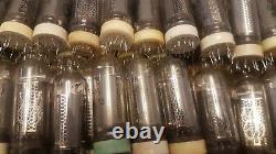 In-14 In14 -14 Tube Nixie Pour Horloge Vintage Urss Used 100% Testé 7pcs