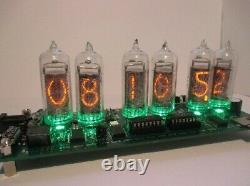 In-14 Nixie Tube Clock Kit Diy. Avec Tube En-14