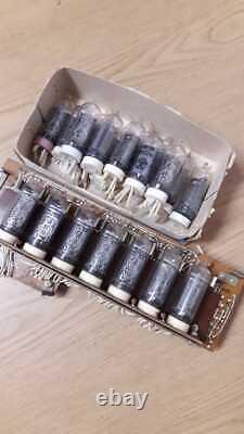 In-14 Nixie Tubes Urss Non Consolidé Testé Inutilisé Pour Nixie Clocks 10 Pcs Set