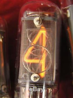In-14 Tubes Ultrarare Grille Fine De Nixie Indicateur Urss Chiffres Pour L'horloge Bricolage Nos