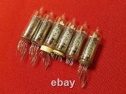 In-16 In16 Nixie Tube Usr Lampe Vintage Pour Horloge -16 Utilisé Tested 100pcs