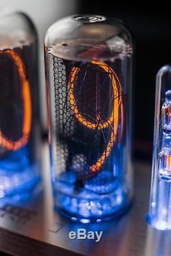 In-18 Nixie Tubes Clock Extreme Large 8 Tubes De Mesure De La Divergence Livraison Rapide Ups