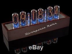 In-18 Nixie Tubes Horloge Divergence Compteur Sync Gps. 12 / 24h, 3-5days Livraison Gratuite