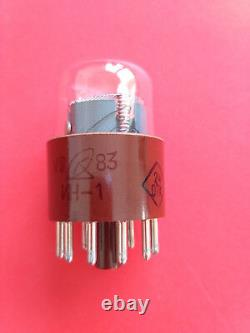 In-1 In1 -1 Grand Tube De Nixie Pour Horloge Soviet Usr Lampe New Nos 25pcs