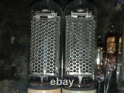 In-23 Tubes Nixie Réglés Pour Horloge 1975s Ultra Rare Testé 4pcs+4pcs In-3 Gratuit