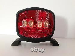 It Man Nixie Clock In12 Tubes Faits À La Main Par Monjibox