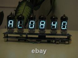 Iv11 Vfd Tubes (nixie Ère) Réveil Uhr Kit Assemblé Par Monjibox Nixie