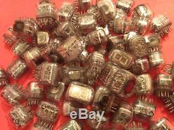 Iv22 Iv22 -22 Nixie Tube Cru Horloge Soviétique Indicateur Vfd Ussr Nos 100 Pcs