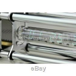 Iv-18 Vfd Nixie Horloge Tube Assemblé Avec En Alliage D'aluminium Shell Dt5 Adaptateur