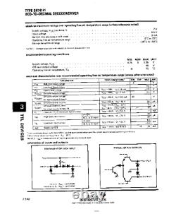 K155id1 1551 A-g 74141 Nixie Horloge Tube Driver Haute Tension Puce Nouveau 100pcs