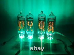 Kit D'horloge De Tube De Nixie Avec Des Tubes In-14 In14 Horloges Froides Soviétiques Vintage De Cathode